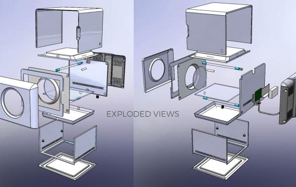 UV Cube 360 - Product Design - Florida