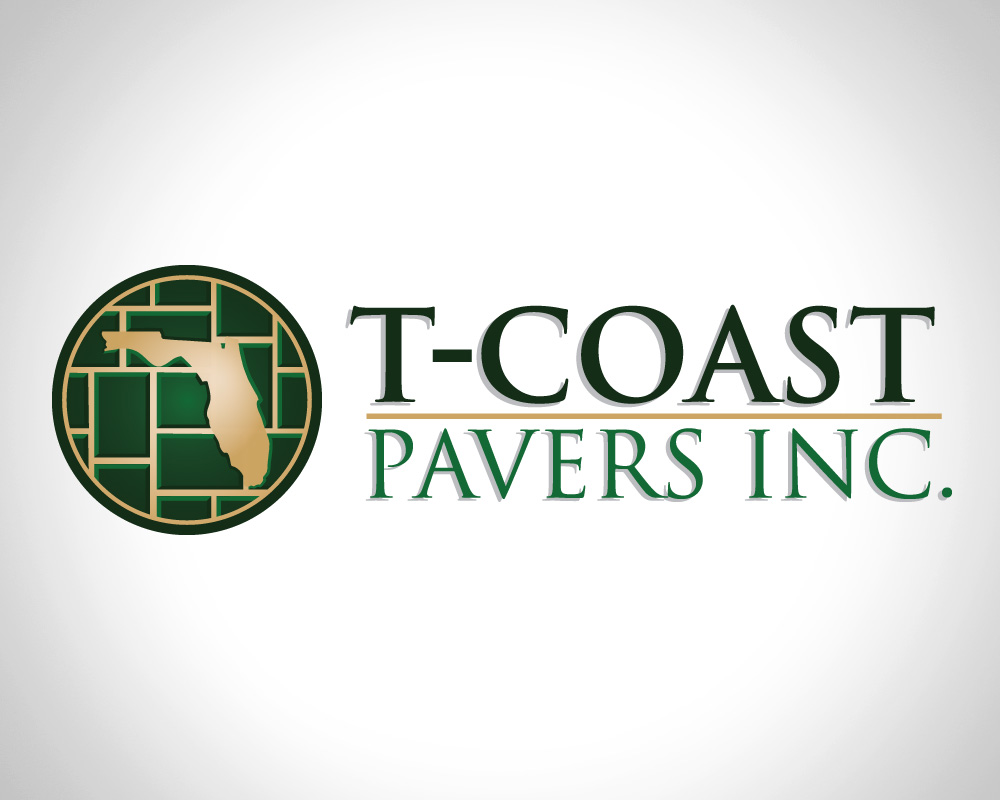 T-Coast Pavers - Logo Design - St Lucie County