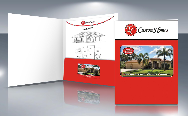 custom presentation folder