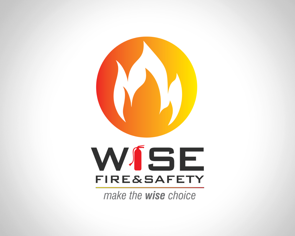 Wise Fire and Safety - Logo Design - Port St Lucie, FL