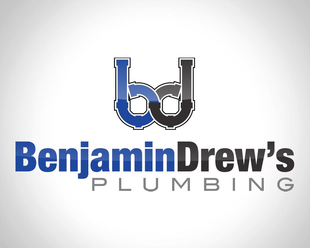 Benjamin Drew's Plumbing - Logo Design - Saint Lucie, FL