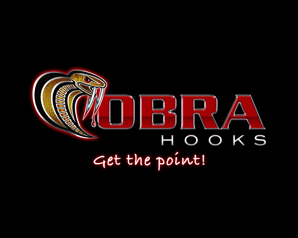 Cobra Hooks - Logo Design - Saint Lucie County