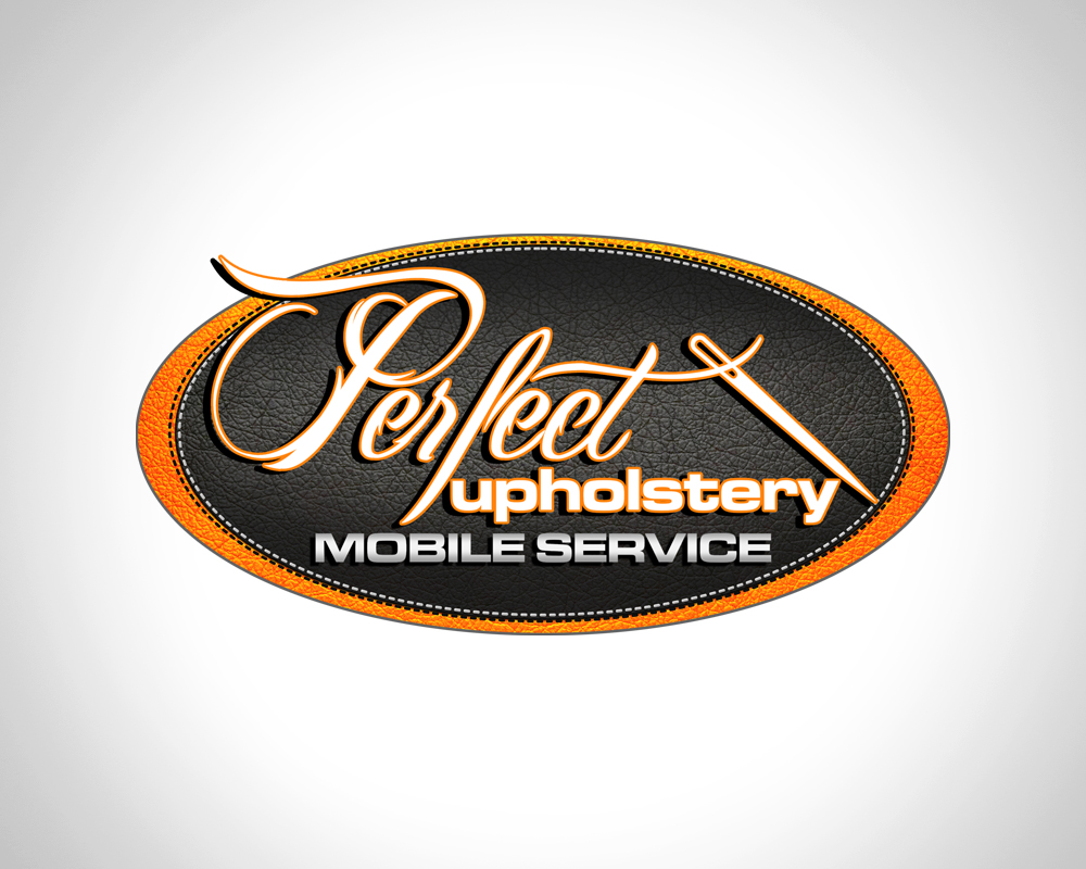 Perfect Upholstery - Logo Design - St Lucie County