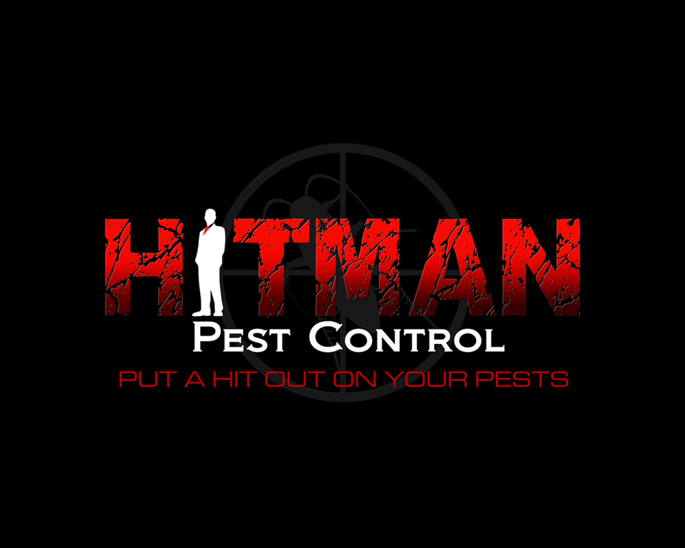 Hitman Pest Control - Logo Design - Port St Lucie