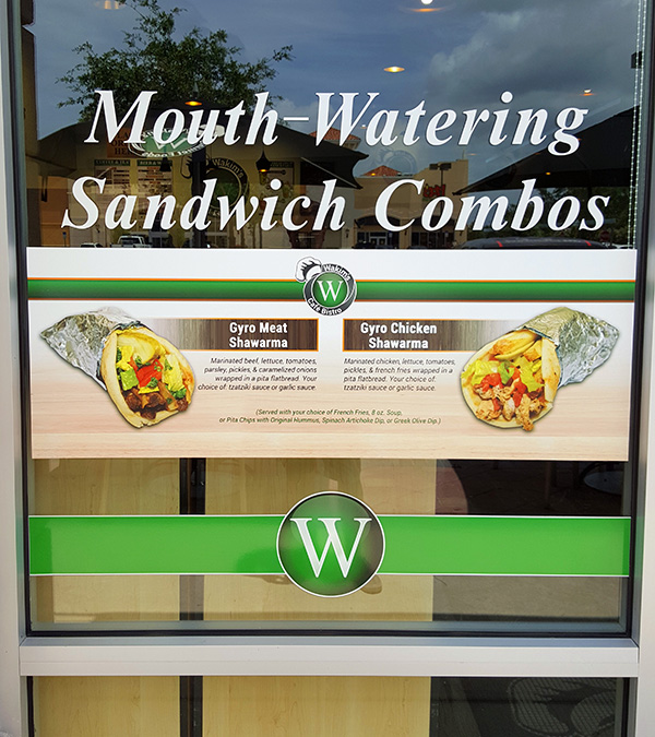 Window Sign Printing - Stuart, St Lucie, FL
