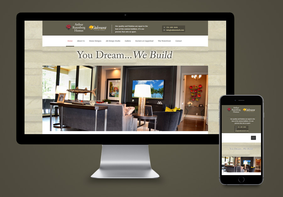 Website Design Stuart, FL - Stuart Luxury Builder