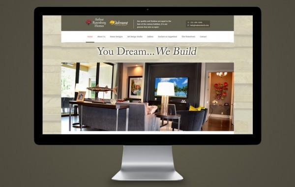 Website Design - Custom Homes