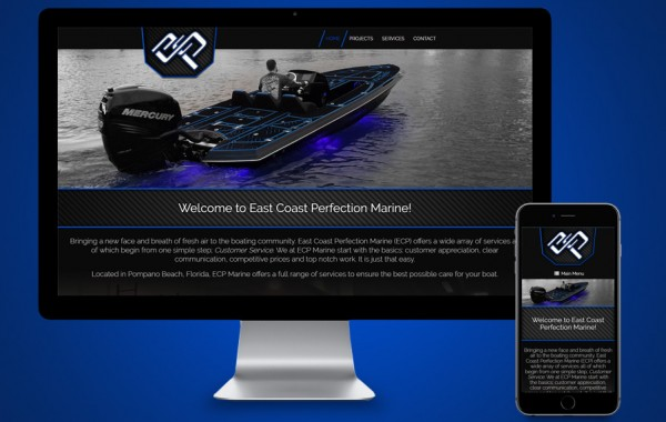Pompano Website Design - ECP Marine