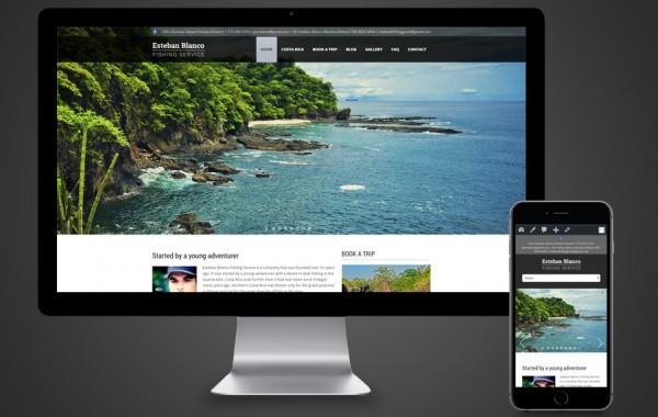 PSL Website Design - Esteban Blanco Fishing