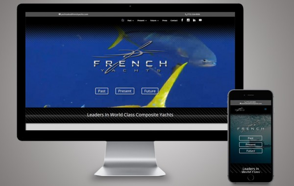 Website Development Stuart, FL - French Yachts