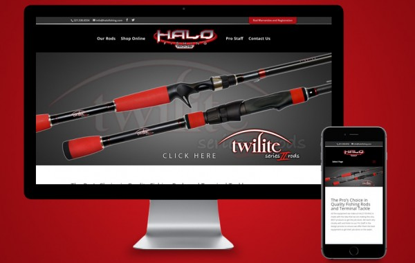Website Development PSL, FL - Halo Fishing