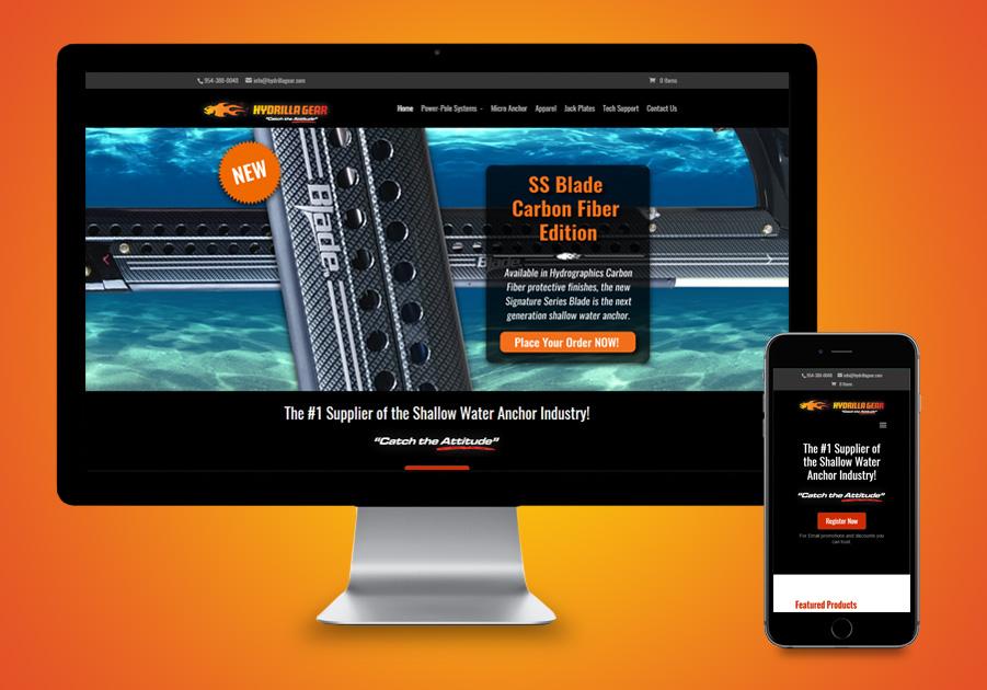 St Lucie Website Development - Hydrilla Gear