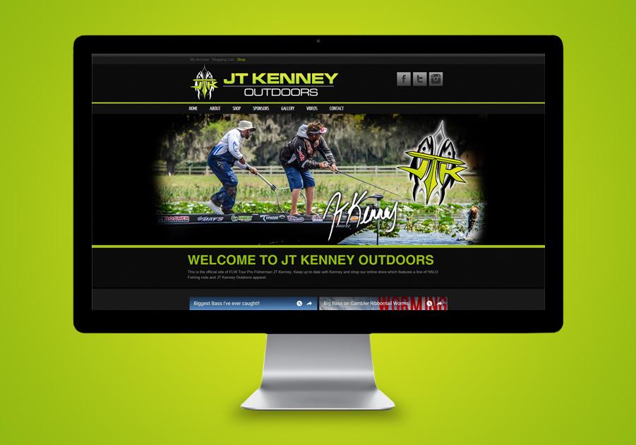 Florida Website Developer - JT Kenny Outdoors