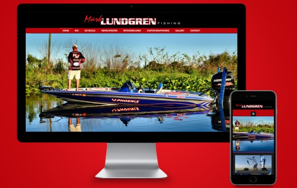 Florida Website Designer - Mark Lundgren Fishing