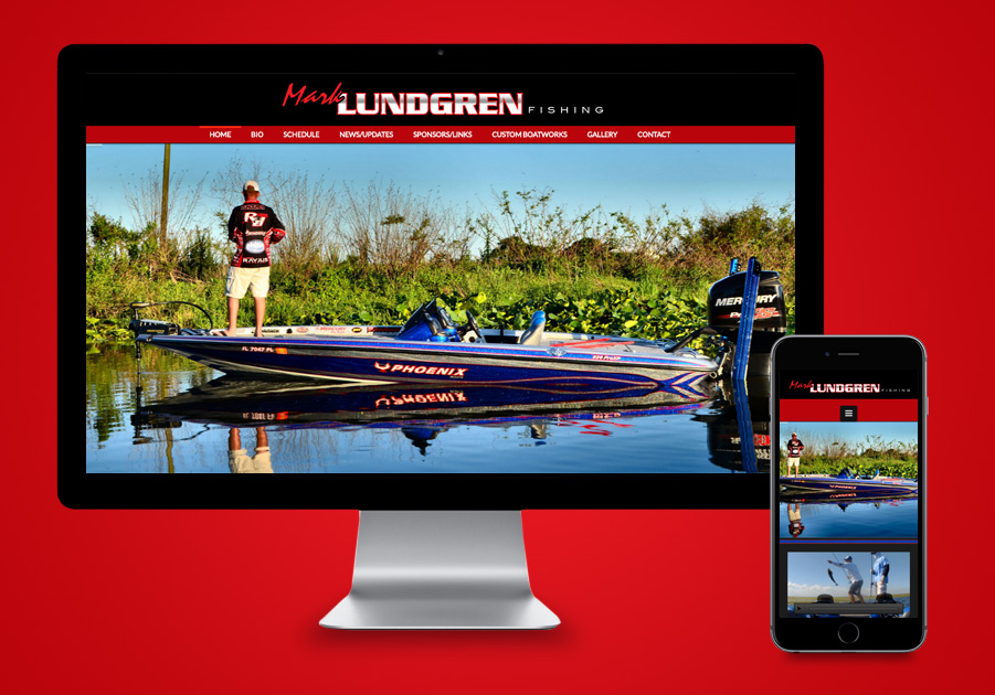 Florida Website Designer - Mark Lundgren Fishing