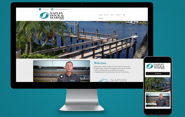 Website Design Naples, FL - Naples Dock & Marine