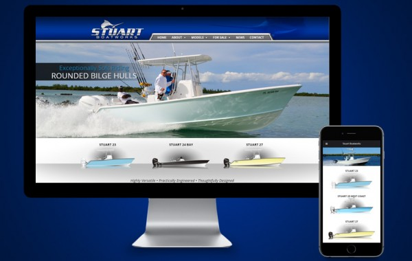 Web Design Stuart - Stuart Boatworks