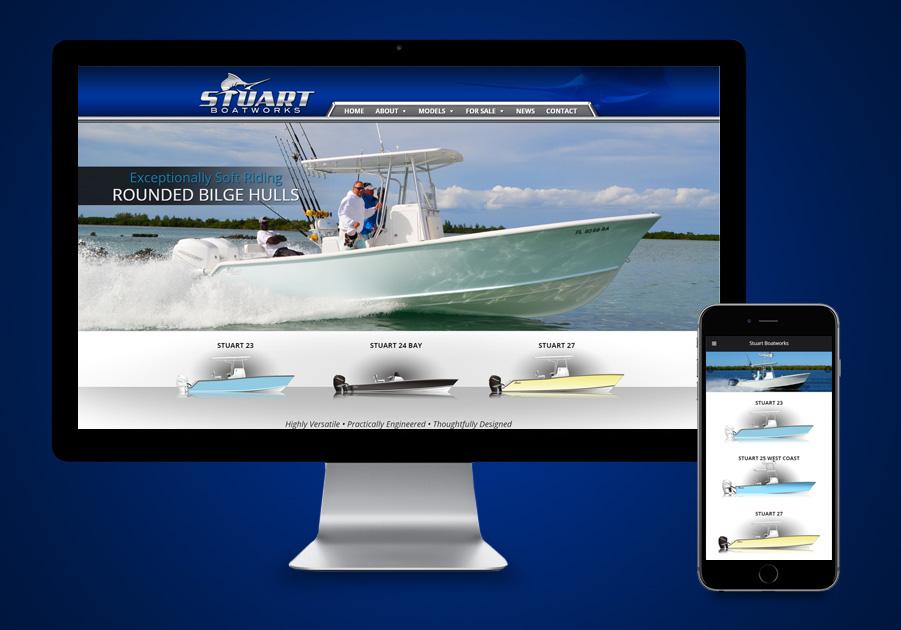 Web Design Stuart - Stuart Boatworks