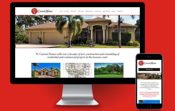 Website Design Treasure Coast - TC Custom Homes