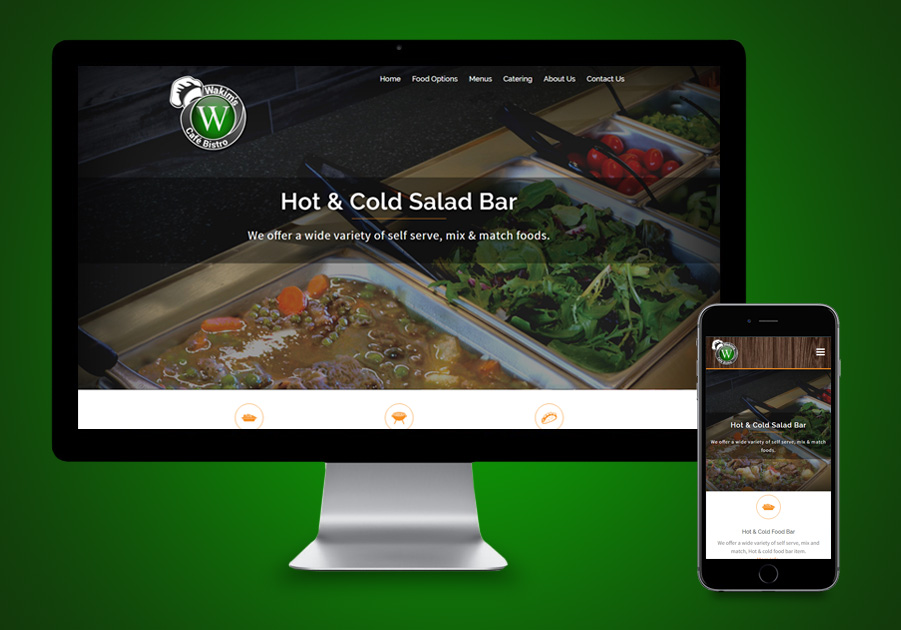 Website Design Port Saint Lucie - Wakims Cafe Bistro