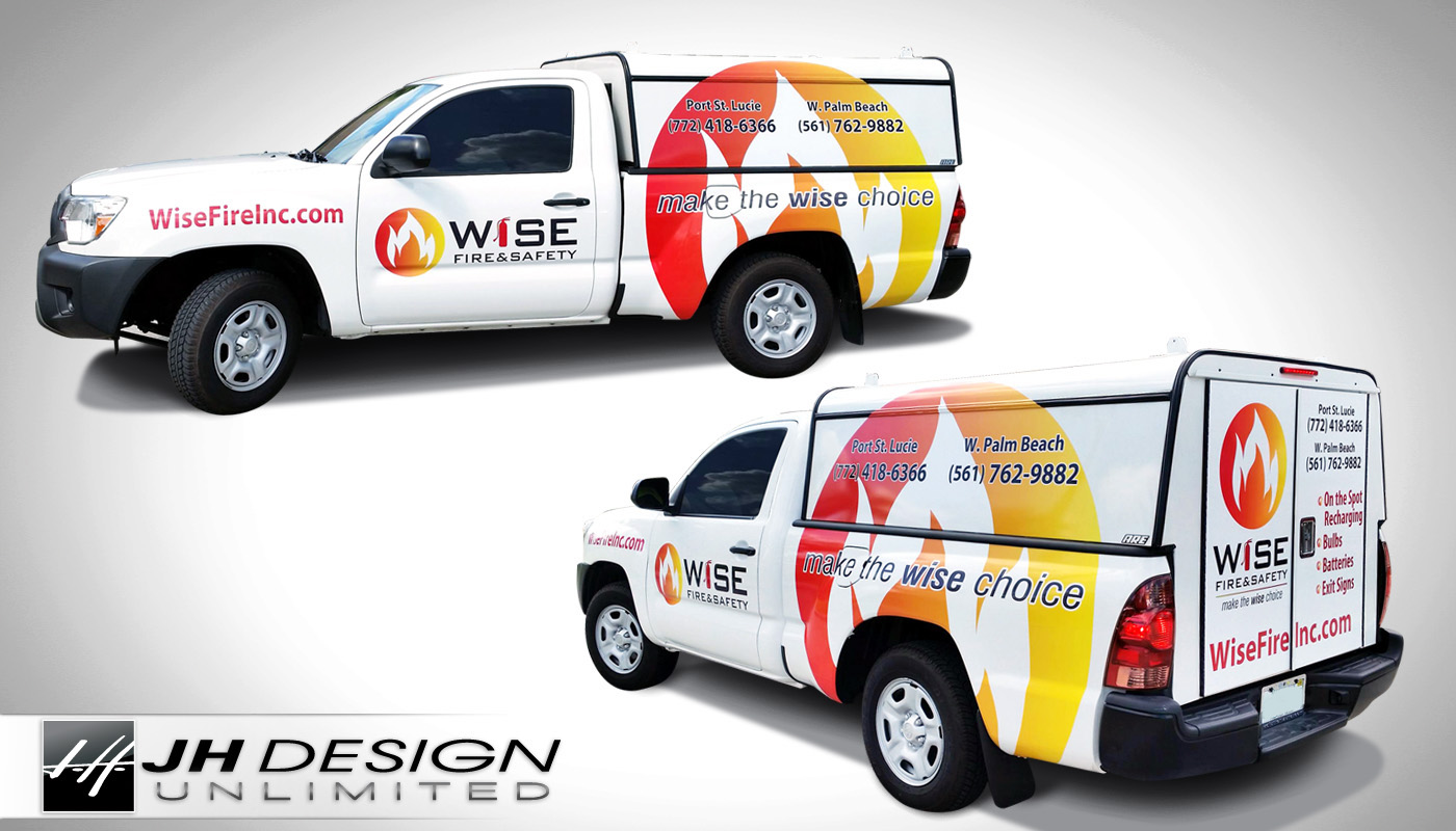 Truck Wrap Port St Lucie