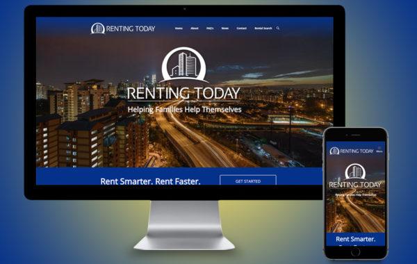 Website Design - Renting Today