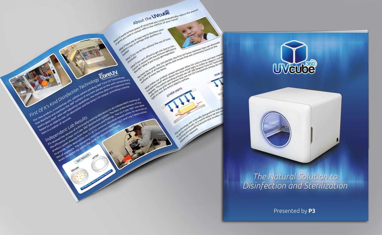 UV Cube 360 - Booklet Design - Stuart, FL
