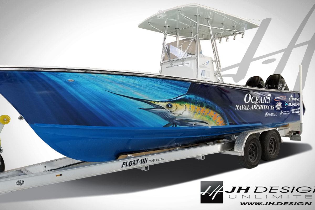 Boat Wraps Stuart Florida