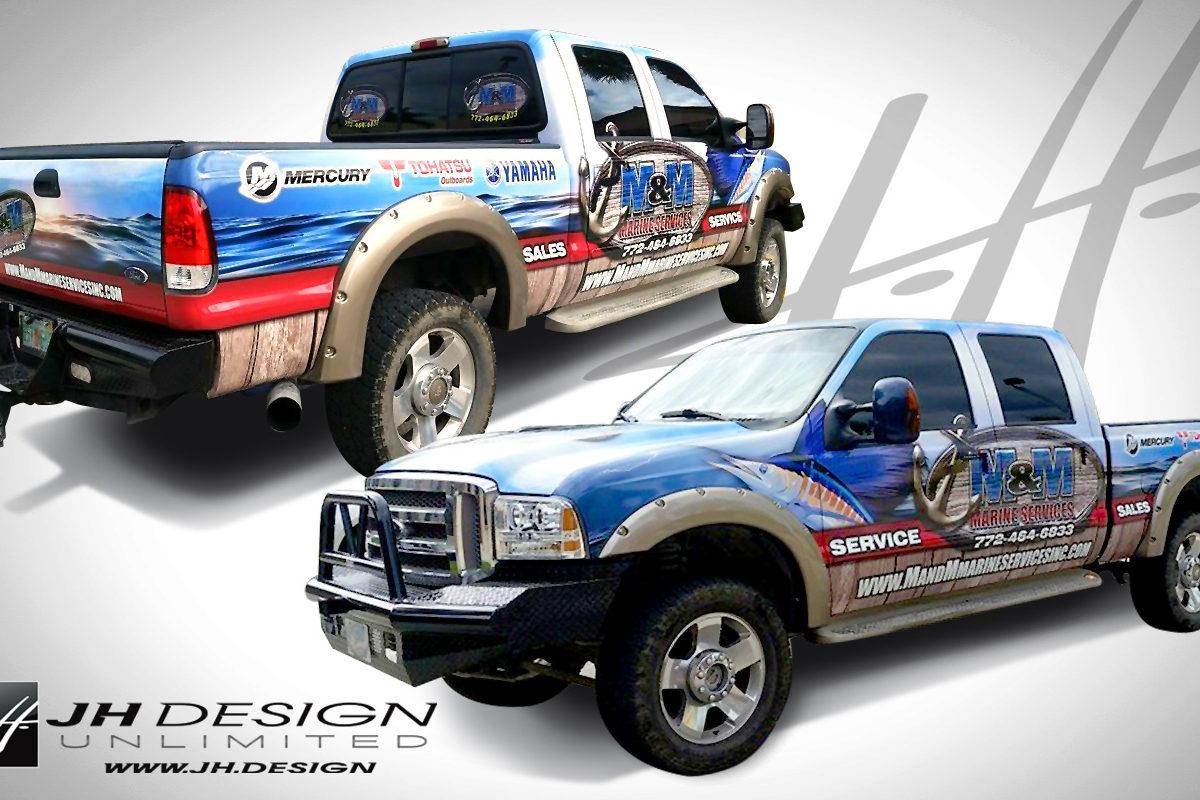 Truck Wraps in FL