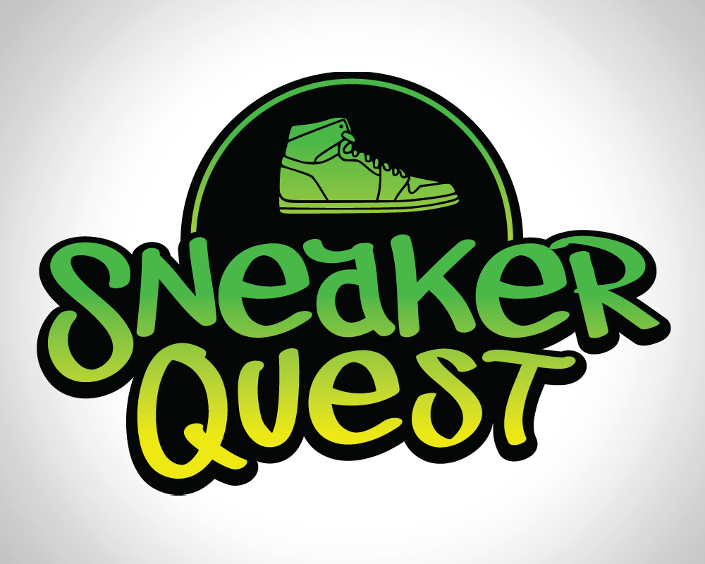 Sneaker Quest Logo Design Jh Design Unlimited
