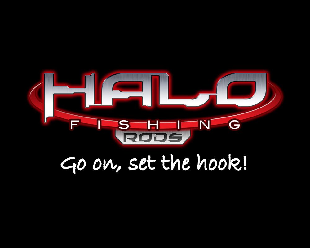 Halo Fishing Logo Design Jh Design Unlimited