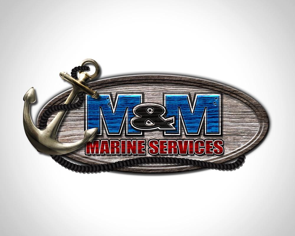 M&M Marine - Logo Design - Port St Lucie