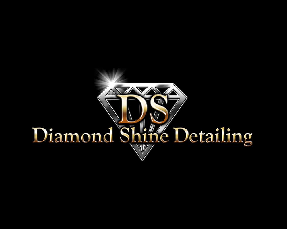 Diamond Shine Detailing - Logo Design - Port Saint Lucie