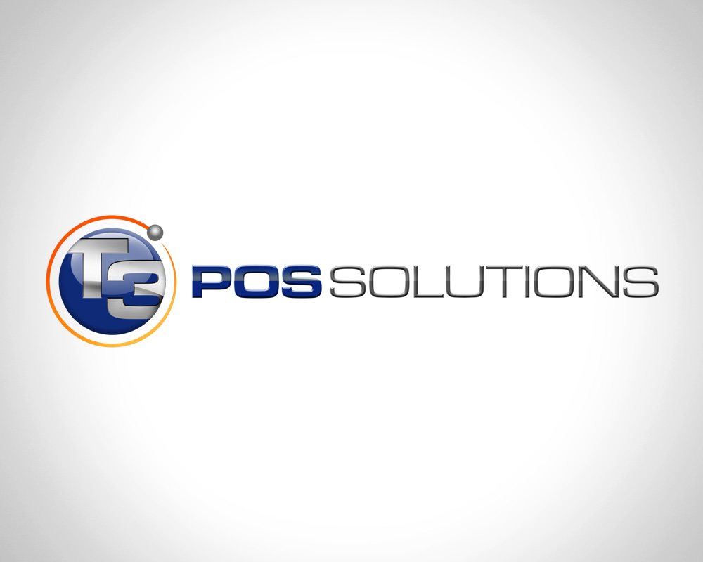 T3 Pos Solutions - Logo Design - Port St Lucie, FL