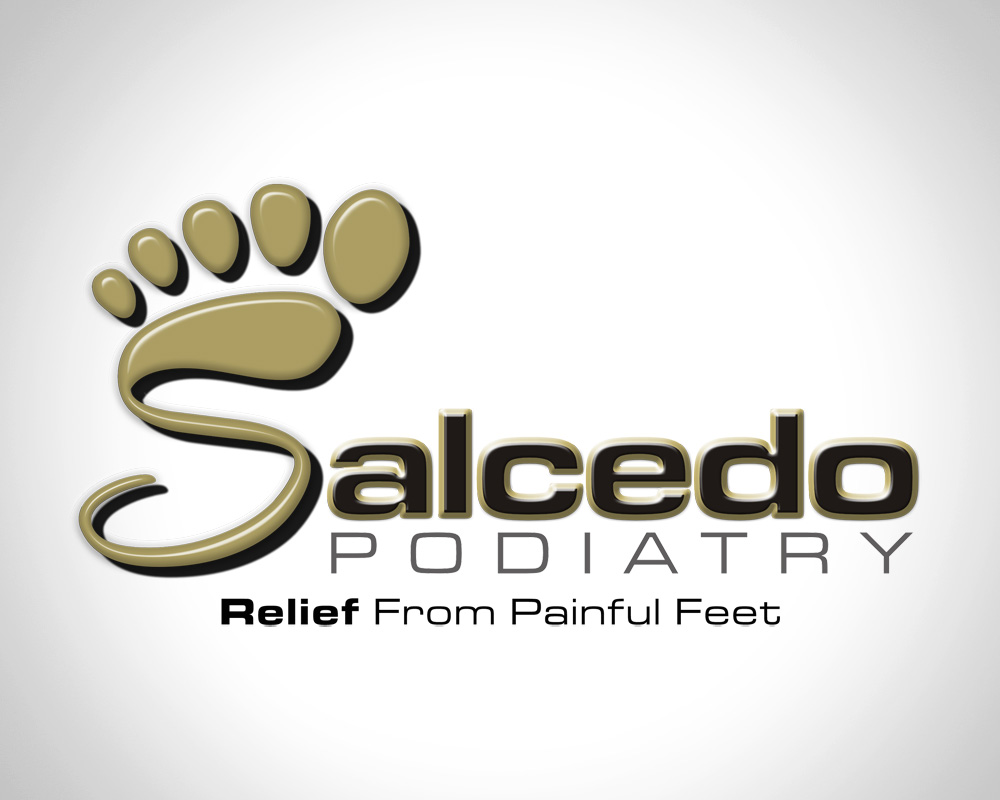 Salcedo Podiatry - Logo Design - St Lucie, FL