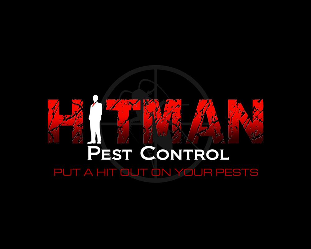 Hitman Pest Control - Logo Design - Port St Lucie