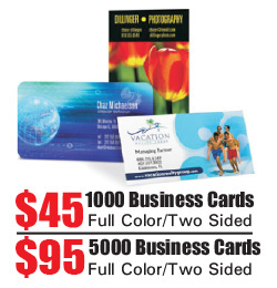 Business Card Printing - Port St Lucie, Stuart, Ft Peirce