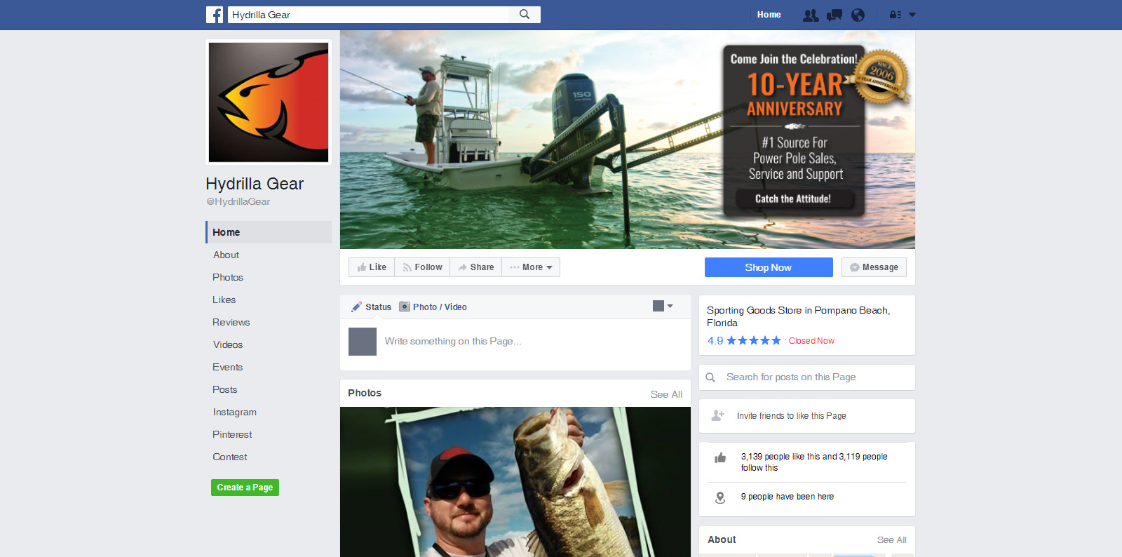 Hydrilla Gear - Social Media Marketing