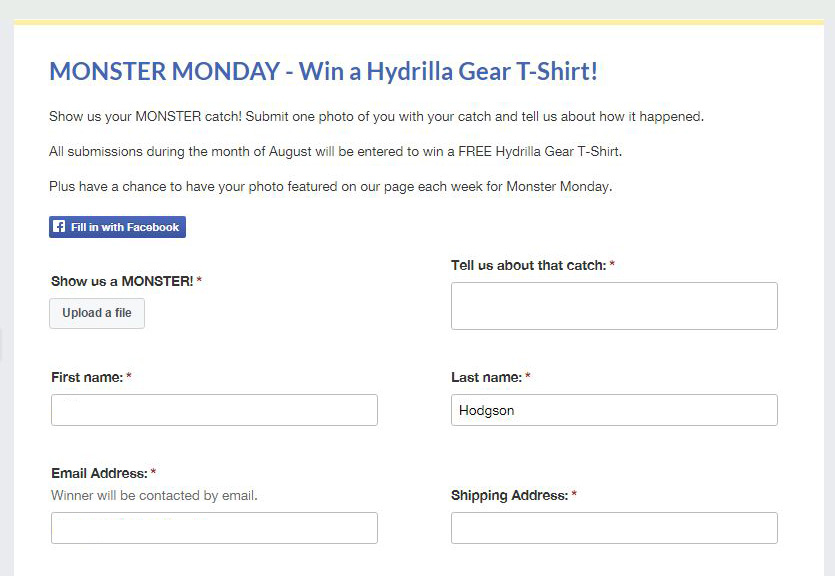 Facebook Contests - Social Media Marketing