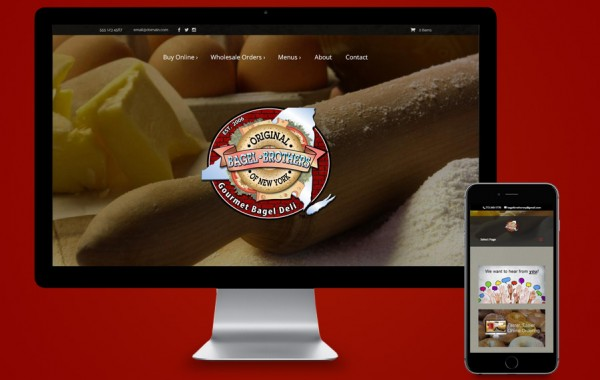 Web Design Port St Lucie - Bagel Brothers of NY
