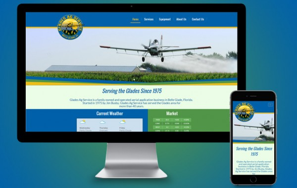 Website Design Belle Glades, FL - Glades AG Services