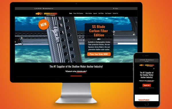 St Lucie Website Development - Hydrilla Gear