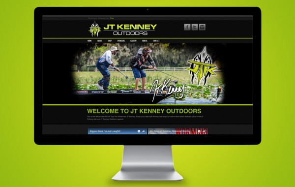 Florida Website Developer - JT Kenny Outdoors