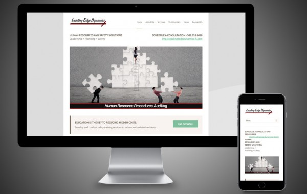 Palm Beach, FL Website Design - Leading Edge Dynamics