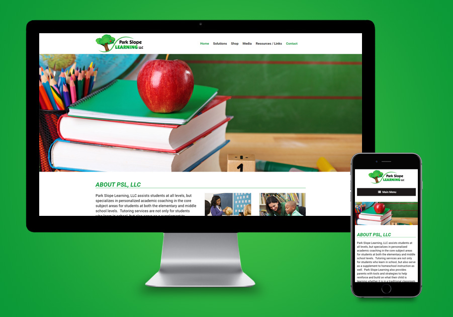 St Lucie Website Developer - Park Slope Learning