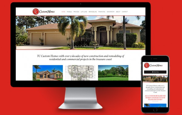 Website Design Treasure Coast - TC Custom Homes