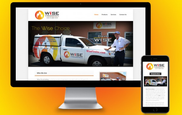 St Lucie County Website Design - Wise Fire & Safety