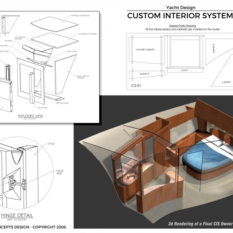 Yacht Design - Product Interior Design