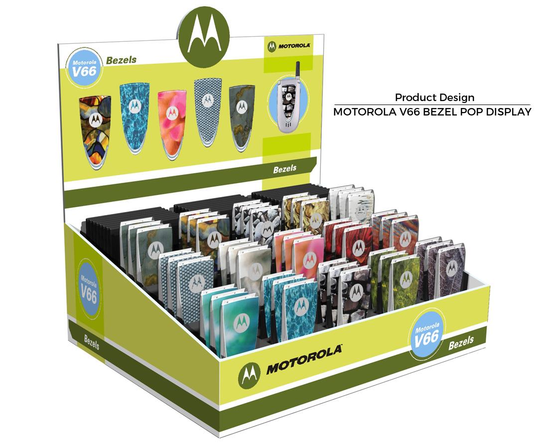 Motorola Bezel POP Display - Product Designer - Florida