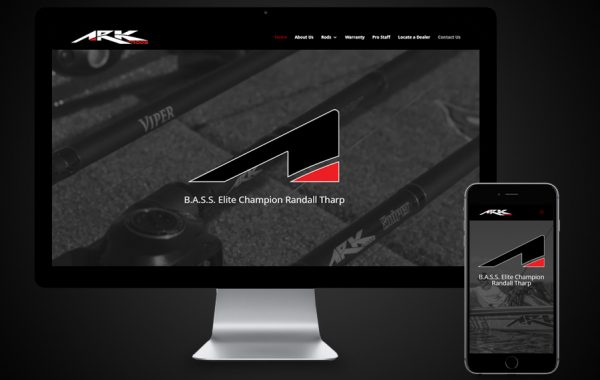Website Design- ARK Rods